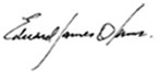 edward james olmos signature